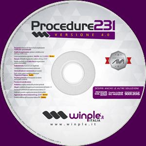Supporto CD del Kit Documentale Procedure 231
