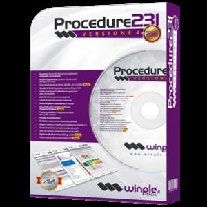 Confezione software Procedure D.Lgs. 231