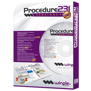 Confezione software Procedure D.Lgs. 231