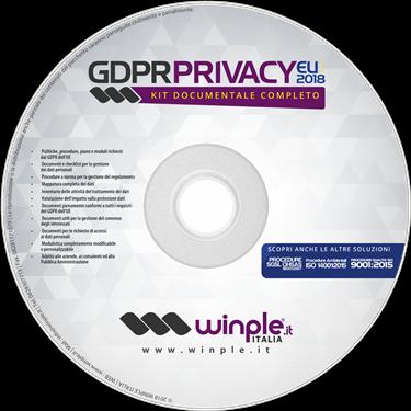 Privacy GDPR Winple 2018 CDROM