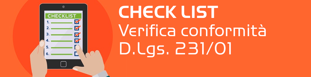 Check list verifica conformità D.Lgs. 231