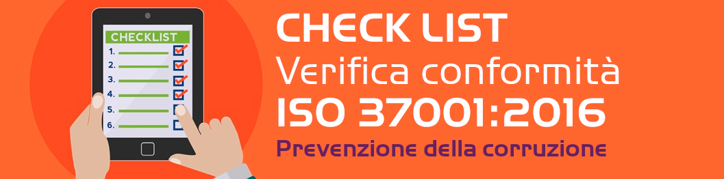 Check list ISO 37001:2016