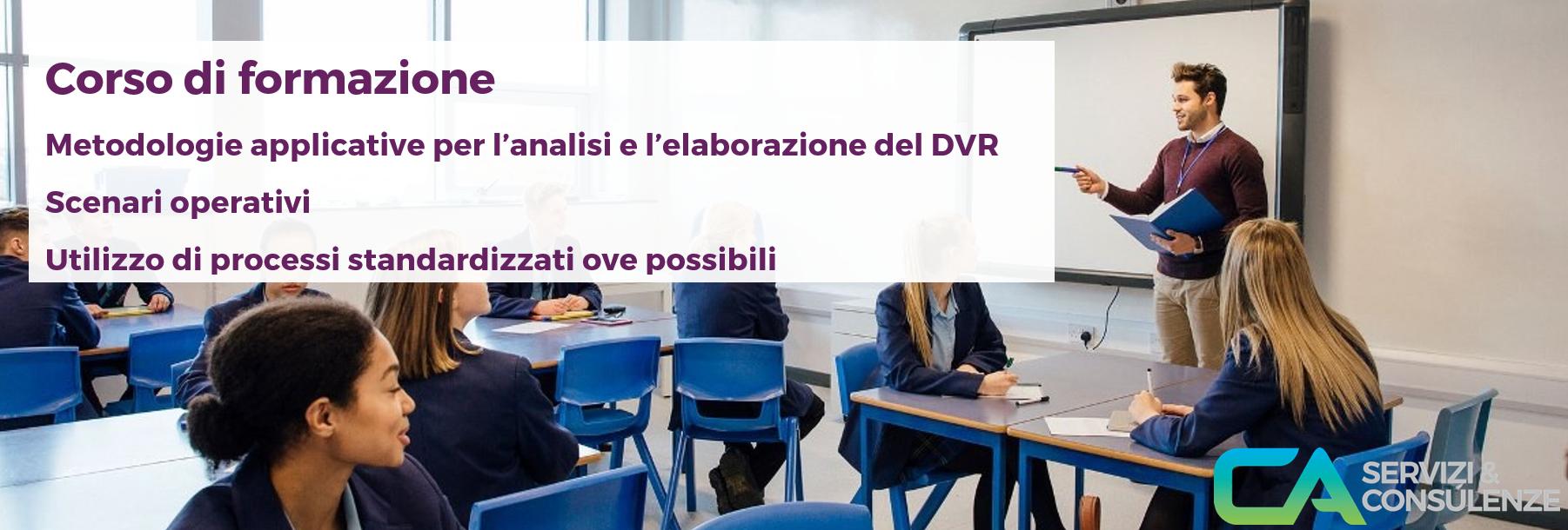 Banner corso Milano CASERVIZI