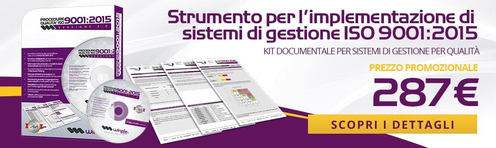 Banner Procedure ISO 9001:2015 - Edizione 2020