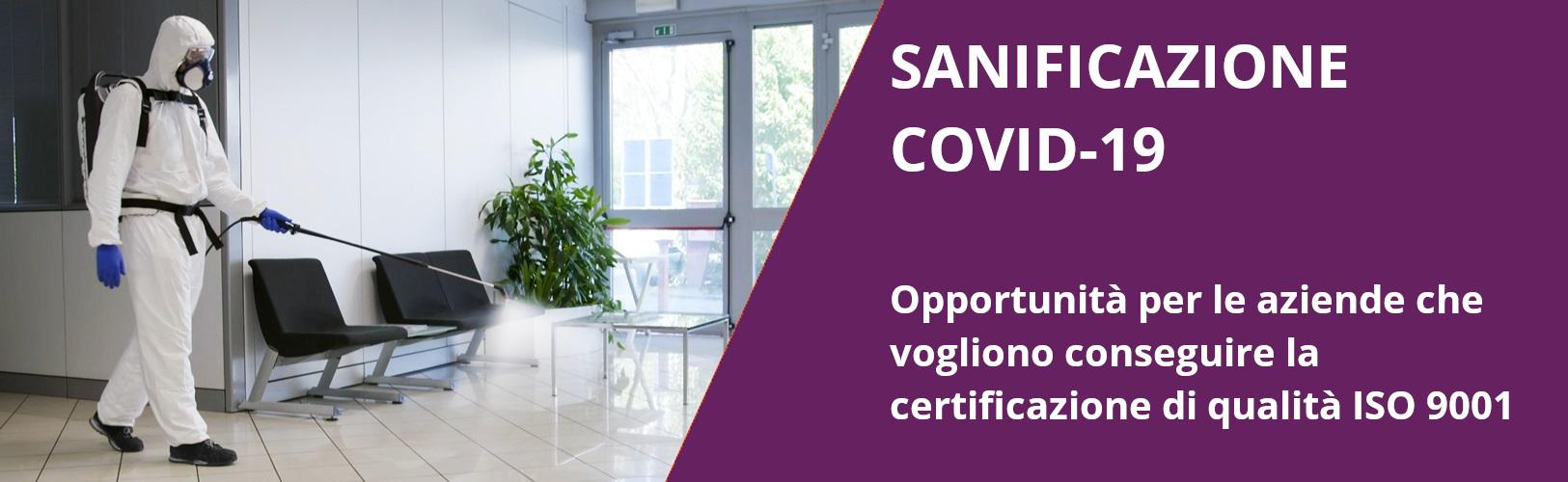 Aziende di sanificazione - Qualità ISO 9001