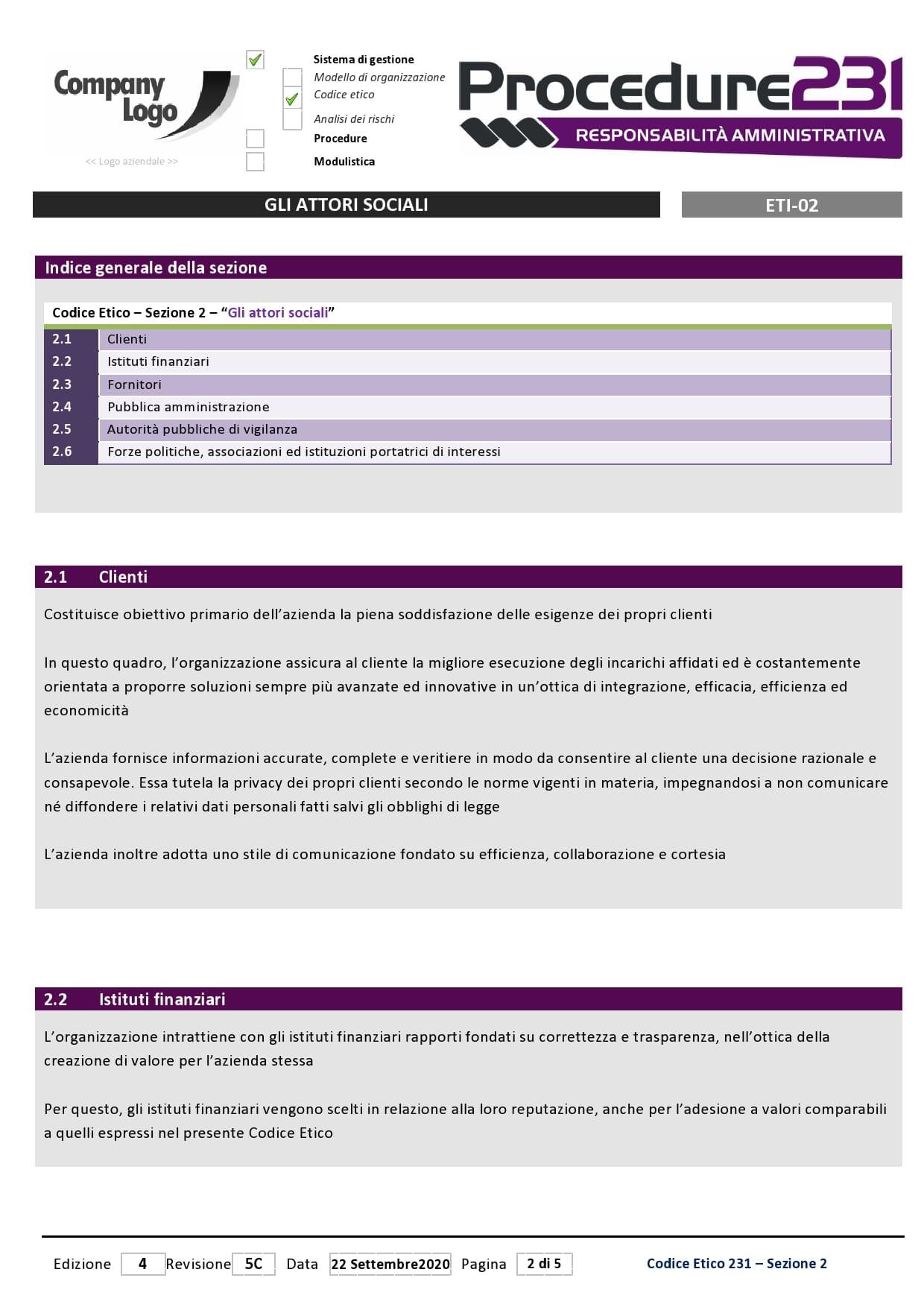 Procedure-231-codice-etico-attori-sociali